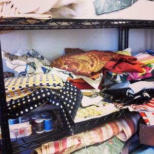 mismatch fabric scraps